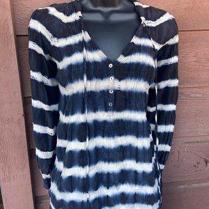 100% Silk Tie Dye Patterson J Kincaid Top